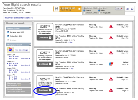 User Guide for a Flexible Dates Search on Hotwire - Blog ...