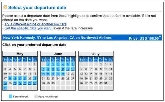 Flexible Date Search Four Sites For Money Saving Flight Options | Star ...