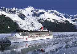 Carnival Spirit in Alaska (Photo: Carnival)