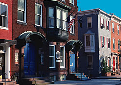 Rowhouses (credit: Photo Disc)