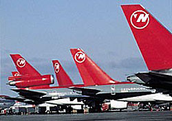 Photo: Northwest Airlines