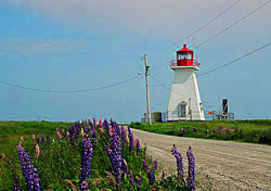 Baccaro Point Lighthouse, Nova Scotia (Photo: Anne Banas)