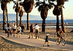 Venice Beach (Credit: Kenna Love/LACVB)