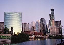 Chicago Skyline at Dusk (Photo: Scenics of America/PhotoLink)