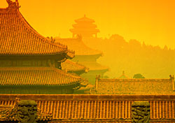 Roofs of the Forbidden City, Beijing, China (Photo: John Wang)