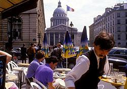 Cafe in Le Pantheon, Paris (Photo: Paris Tourist Office/Catherine Thiebault)