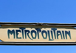 Metro sign, Paris (Photo: Paris Tourist Office/David Lefranc)
