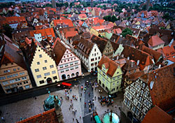 View of Rothenburg, Germany (Photo: John Wang)