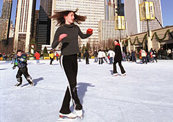 Millennium Park Ice Rink (Photo: City of Chicago/Mark Montgomery)