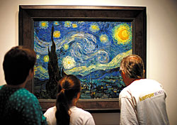 Van Gogh at the Museum of Modern Art, New York