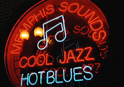 Memphis Neon Sign (Photo: PhotoDisc)