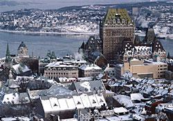 Quebec City, Canada (Photo: PhotoDisc)