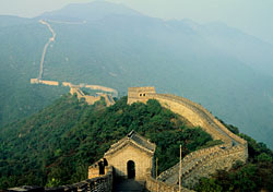Great Wall of China near Beijing (Photo: John Wang)