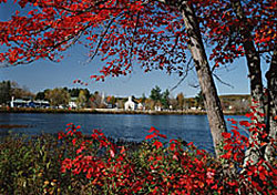 New England Village in Autumn (Photo: Scenics of America/PhotoLink)