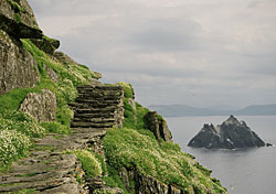 The view from Ireland's Skellig Michael (Photo: Josh Roberts)
