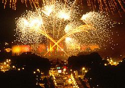 Fourth of July fireworks, Philadelphia (Photo: G. Widman for GPTMC)