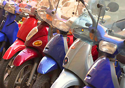 Scooters in Rome (Photo: Keith Levit Photography/Index Open)