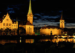 Zurich, Switzerland (Photo: PhotoDisc)