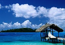 Hut in Bora Bora, Tahiti (Photo: Glen Allison)