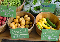 Farmers market, Vermont (Photo: Andre Jenny)