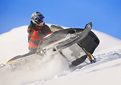 Snowmobile rider (Photo: Index Open)