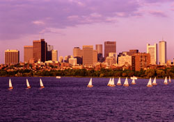 Sailboats on Massachusetts Bay, Boston (Photo: Donovan Reese)
