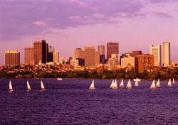 Sailboats on Massachusetts Bay, Boston (Photo: Donovan Reese)