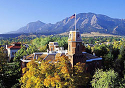 The Old Main in fall (Photo: Casey A. Cass, University of Colorado Boulder)