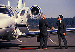 Travel by private jet (Photo: IndexOpen)