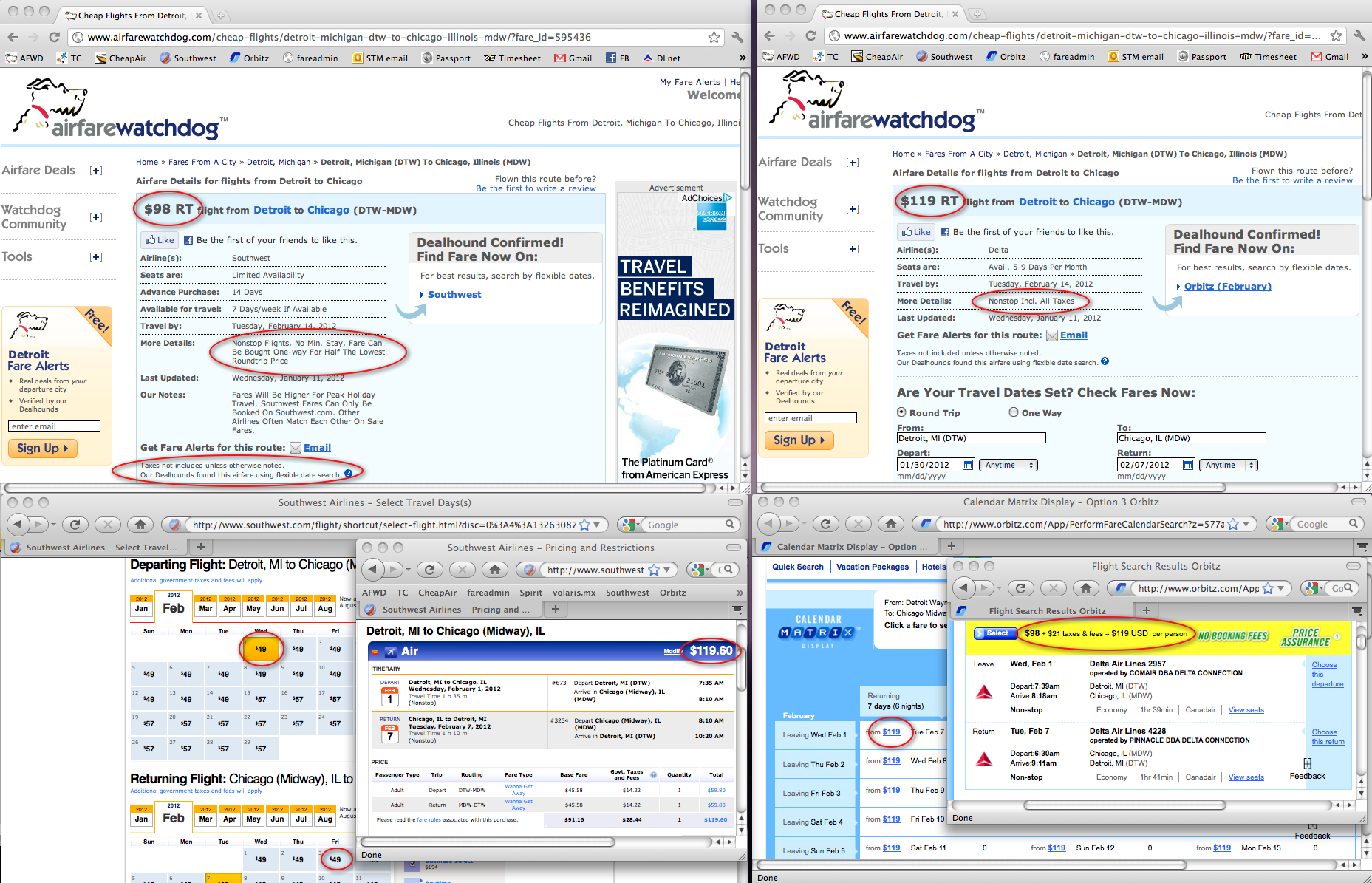 airline tickets southwest
