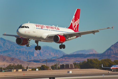 Virgin America Sale for November Travel