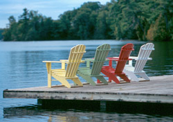Adirondack deck chairs (Photo: Warren County Tourism Department/www.visitlakegeorge.com)