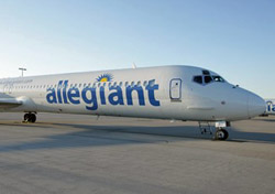 Allegiant Air aircraft (Photo: Allegiant Air)