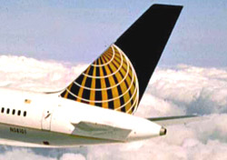 Continental aircraft tail close up (Photo: Continental)