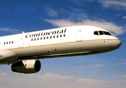 Continental aircraft front (Photo: Continental)