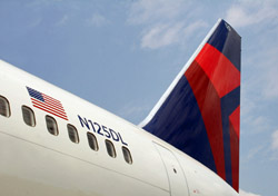 Delta aircraft tail (Photo: Delta)