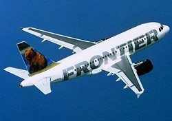 Frontier jet flying over water  (Photo: Airbus S.A.S. )