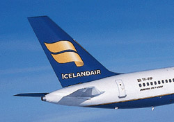 Icelandair aircraft tail close up (Photo: Icelandair)