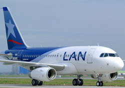 LAN aircraft (Photo: Airbus S.A.S. /H. Gousse)