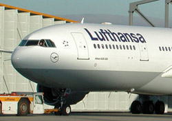 Lufthansa aircraft close up (Photo: Lufthansa)