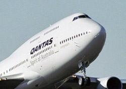 Qantas aircraft close up (Photo: Qantas)