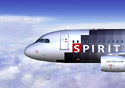 Spirit jet in the air  (Photo: Spirit Airlines)