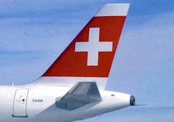 Swiss aircraft close up (Photo: Swiss)