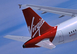 Virgin America tail (Photo: Virgin America)