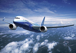 Boeing's 787 Dreamliner (Photo: Boeing Image)