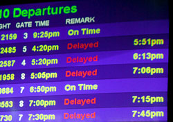 Airport departure screen (Photo: Index Open)