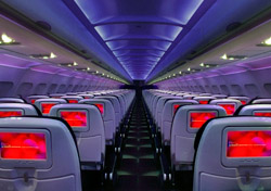 Virgin America seating (Photo: Virgin America)