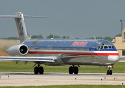 American jet on runway (Photo: Kansas City Aviation Department)