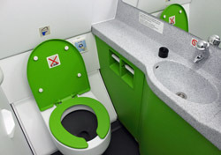 Air: Airplane Toilet (Photo: Thinkstock/iStockphoto)