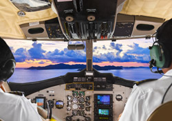 Air: Pilots in Cockpit (Photo: Shutterstock/Tatiana Popova)
